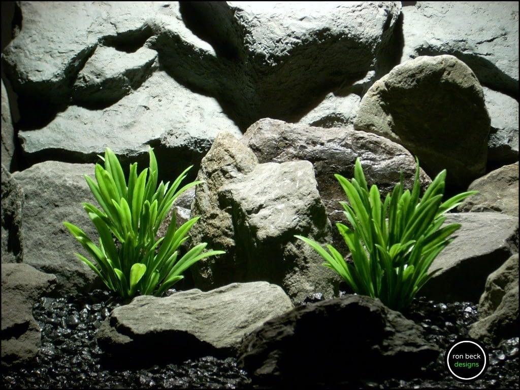 plastic aquarium plants river grass green from ron beck designs. pap196