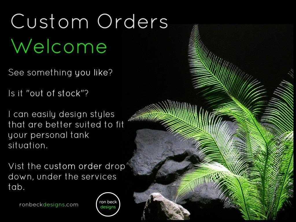 custom orders | ron beck designs.