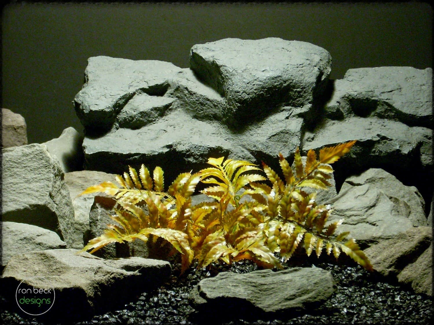 Forest Fern - Artificial Reptile Plant - Ron Beck Designs prp311