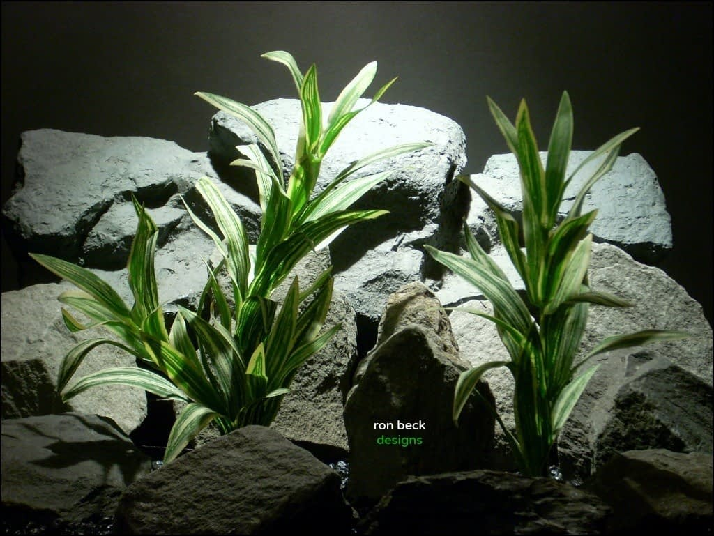 silk aquarium plants spider bush's sarp153 from ron beck designs
