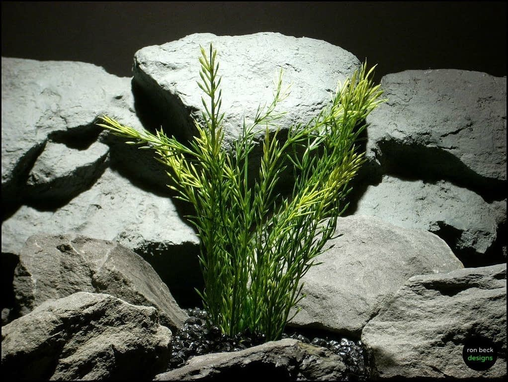 plastic aquarium plant green wheat grass pap099 by ron beck designs