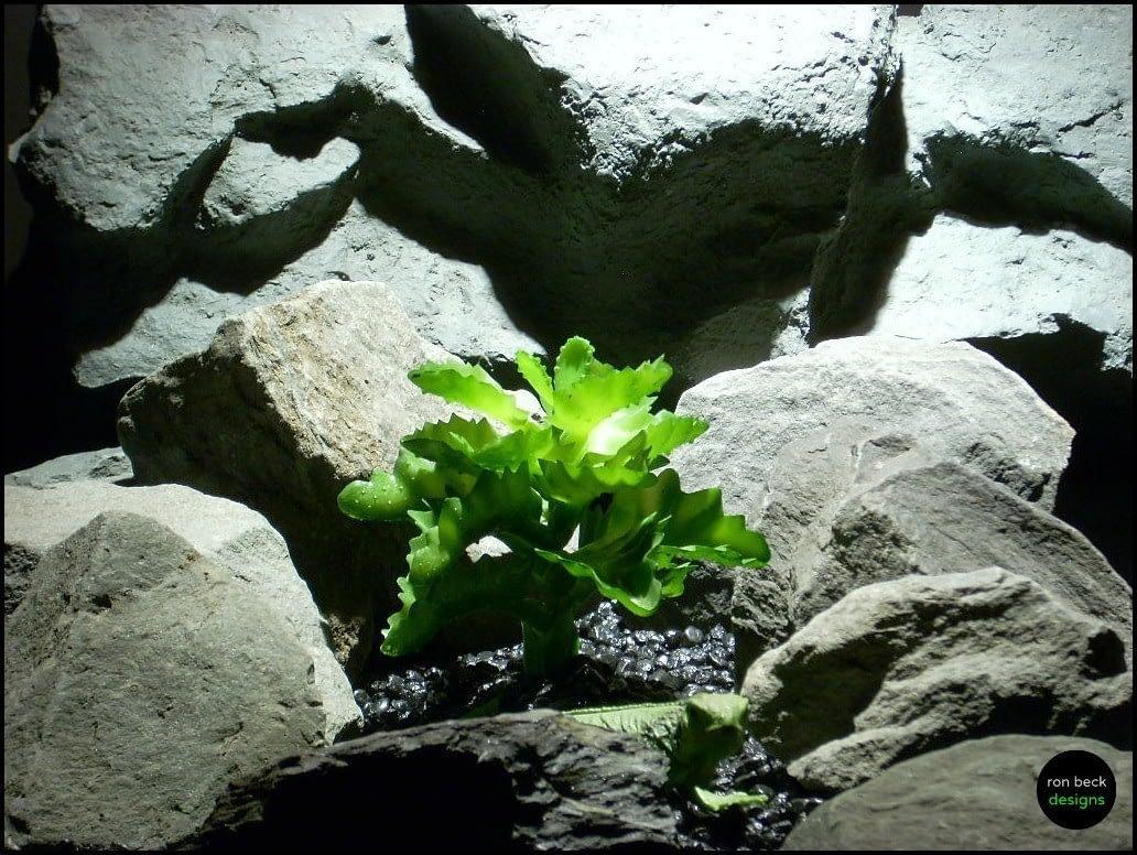 artificial reptile plant succulent prp120 ron beck designs