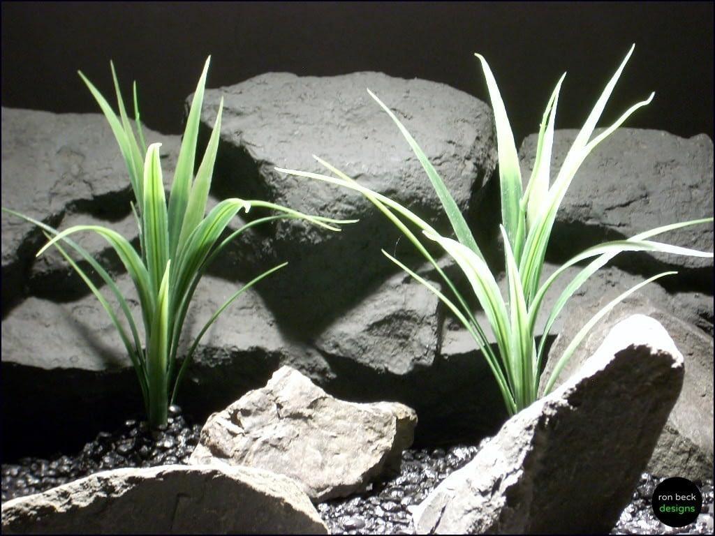 aquarium plants leaf blades parp058 plstc. ron beck designs