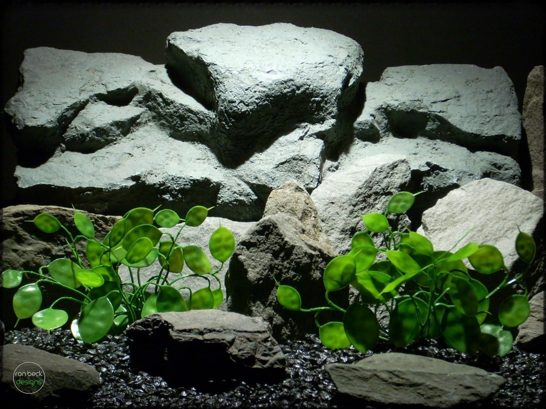 Chinese Money Plant - Artificial Aquarium Plants pap283
