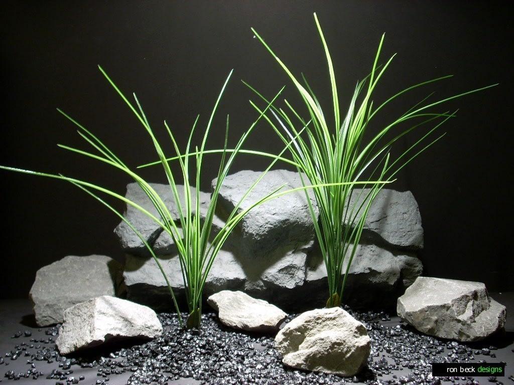 aquarium plants high grass pap206 plastic  ron beck designs