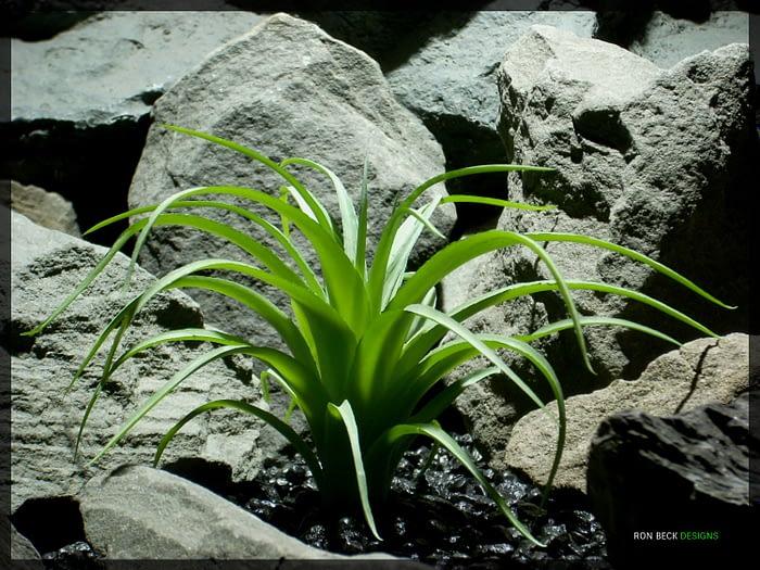 Artificial Spider Agave - Artificial Reptile Habitat Plant - prp333 1500 2
