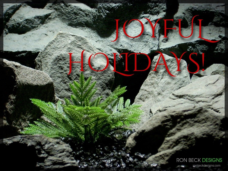 Joyful Holidays - Ron Beck Designs - 1100-825-1