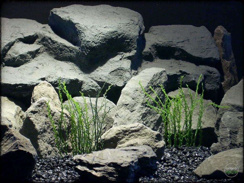 Bead Grass - Artificial Aquarium Plant parp299