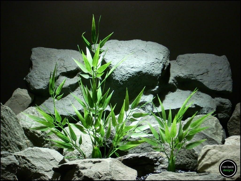 plastic aquarium plants bamboo parp164 from ron beck designs