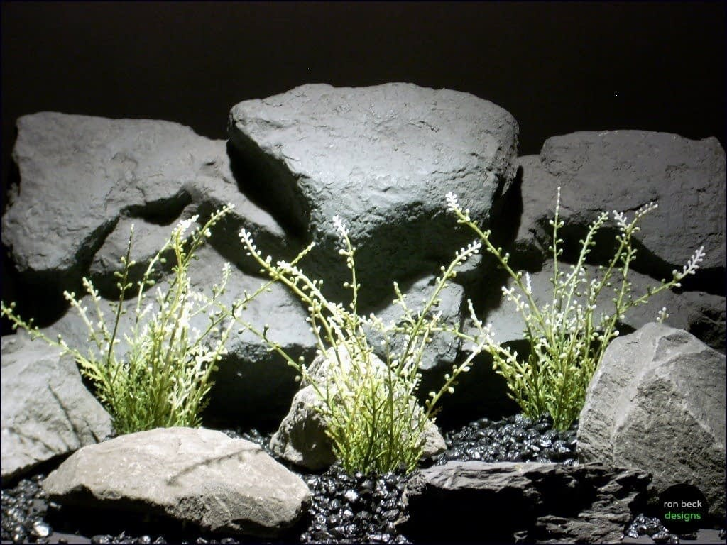 aquarium plants wild heather minis pap070 plstc. ron beck designs