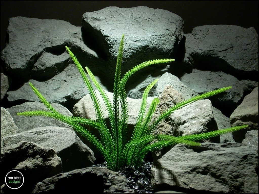 plastic aquarium plant tail grass pap176 from ron beck designs