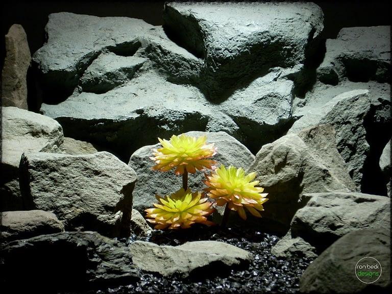 Sempervivum Cmiral Succulent | Artificial Reptile Plant prs265