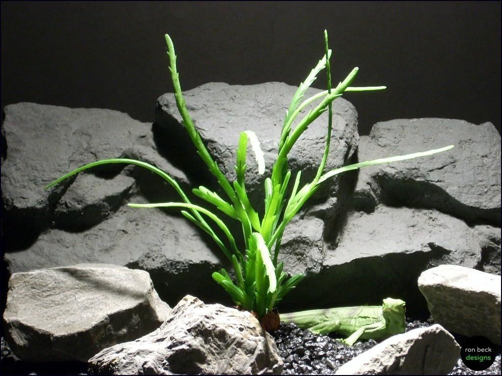 reptile habitat plants succulent prp055 latex rubber ron beck designs