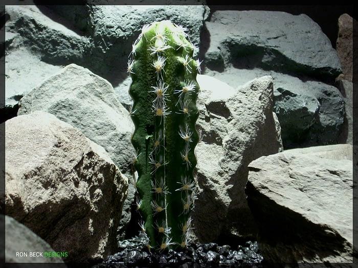 Artificial San Pedro Cactus - Artificial Reptile Habitat Decor - prp332 2