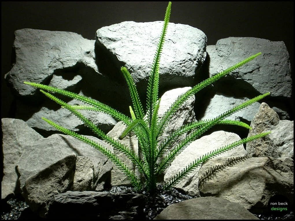 plastic aquarium plants tail grass pap135 from ron beck designs