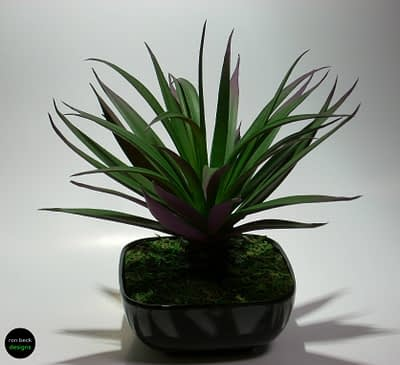 home decor succulent ron beck designs #hd001
