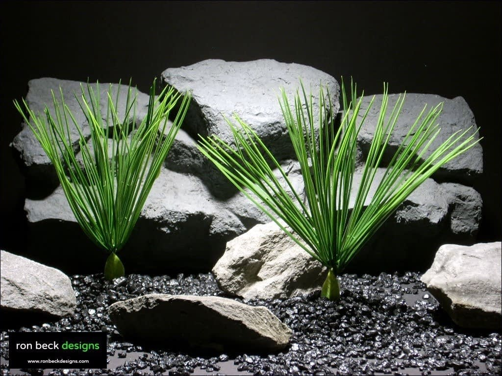 aquarium plants mini high grass parp009 plastic  ron beck designs