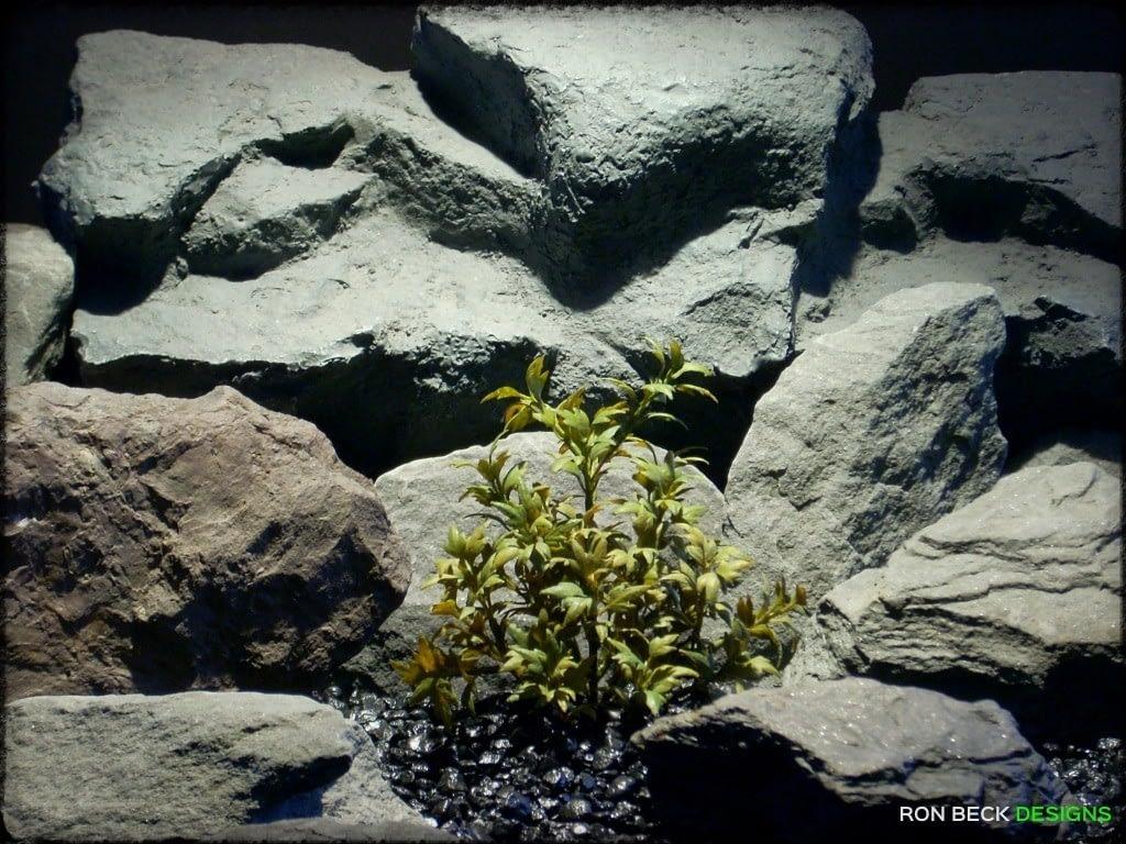 Mini Ming Aralia  - Artificial Reptile Terrarium Plant prp292