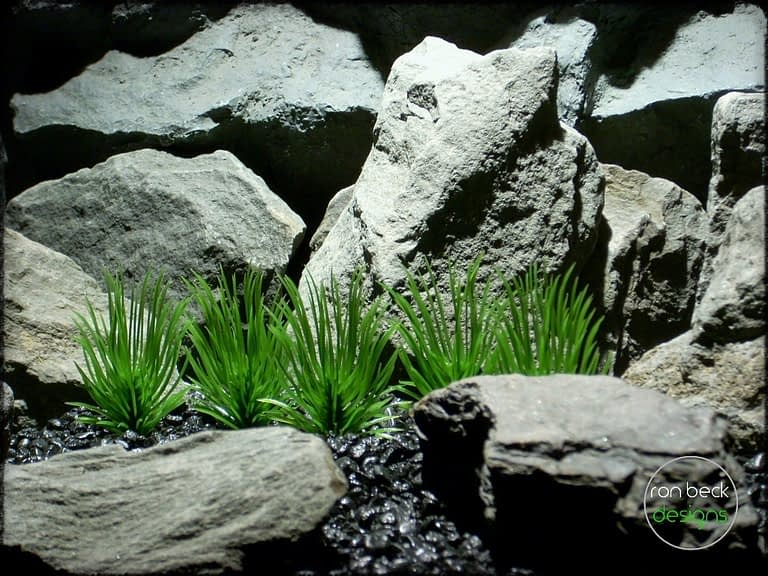pine needle grass plot plastic aquarium plants pap241 2