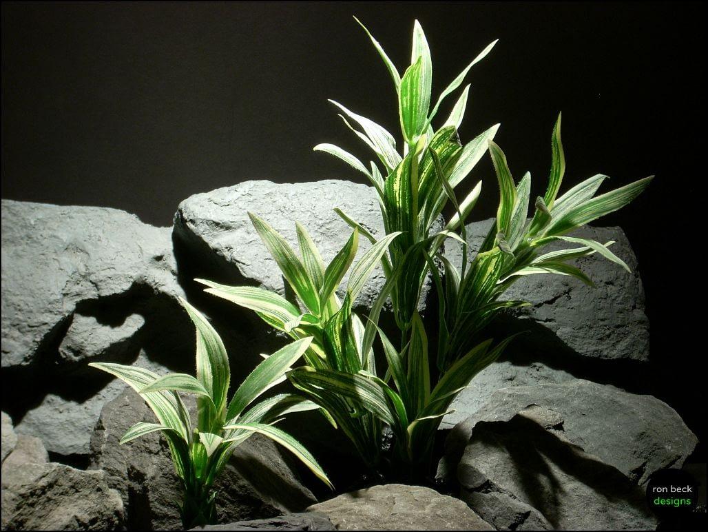 silk aquarium plant spider bushs sap104 by ron beck designs