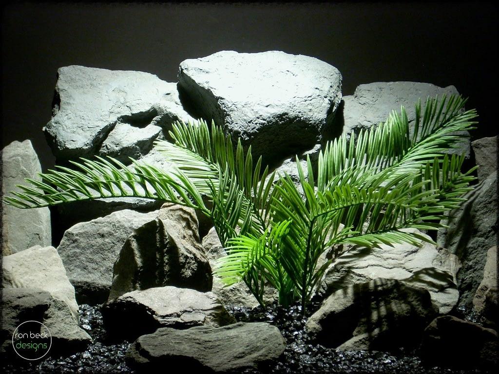 cycas palm artificial reptile amphibian plant prp252