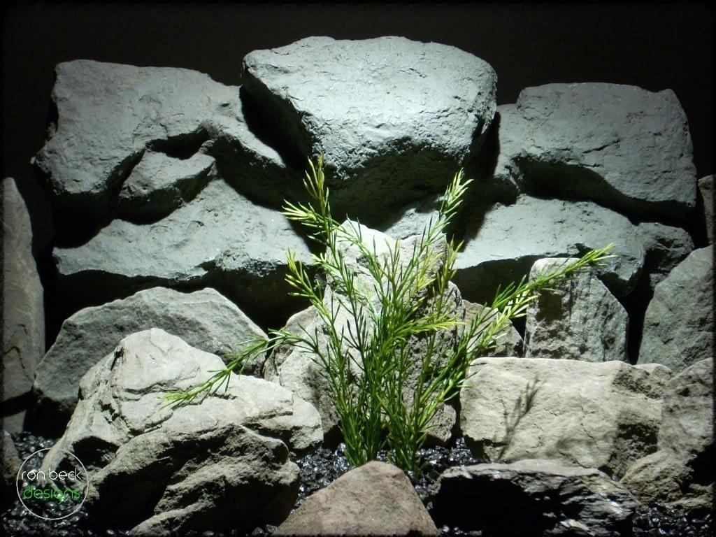 wheat grass plastic aquarium plant pap242
