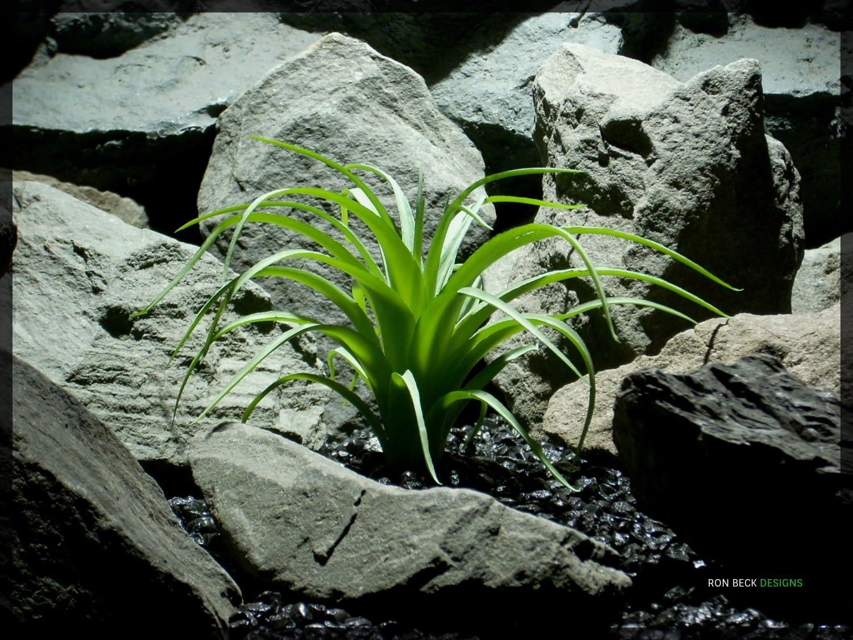 Artificial Spider Agave - Artificial Reptile Habitat Plant - prp333 1500
