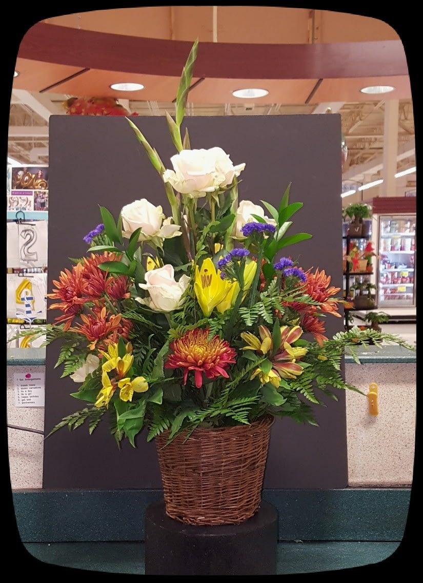 Fresh Flowers - Floral Arrangement - Funeral Piece | 09302019
