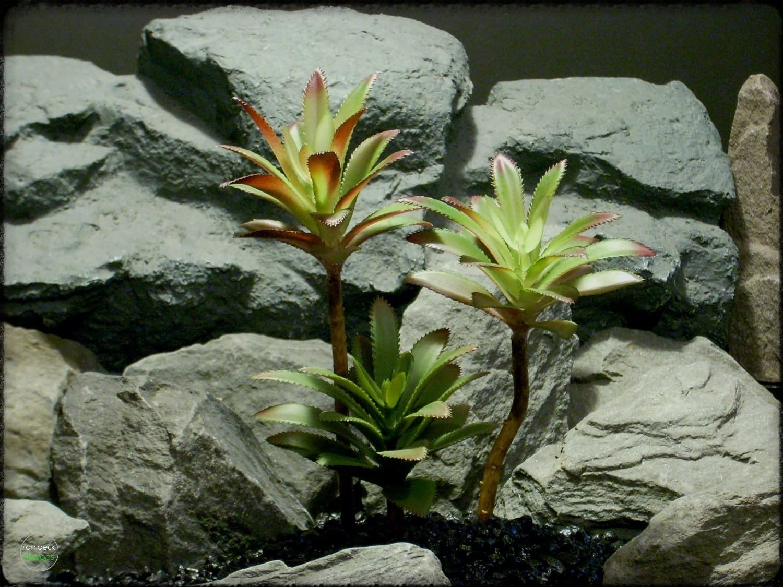 Artificial Succulents Plot - Artificial Reptile Decor Plants prp293