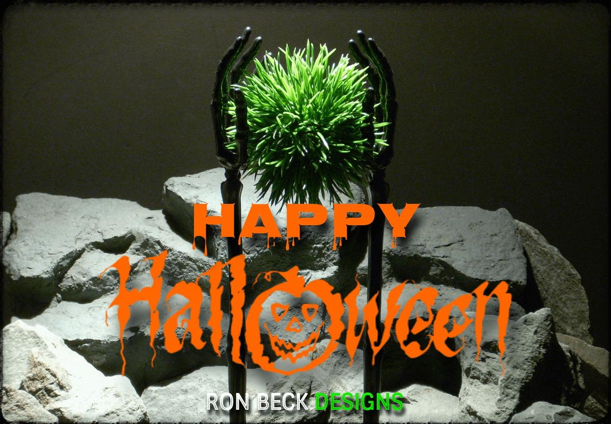 Happy Halloween - Ron Beck Designs 2019