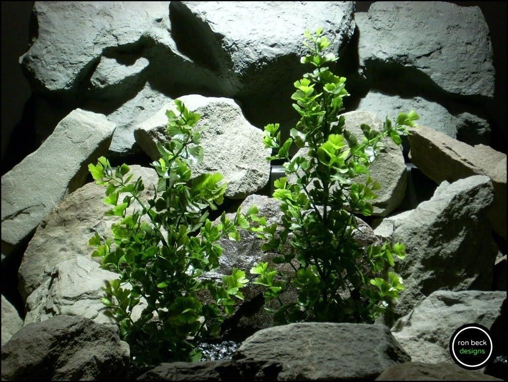 Plastic Aquarium Decor Plant Ginkgo Biloba Bushes From Ron Beck