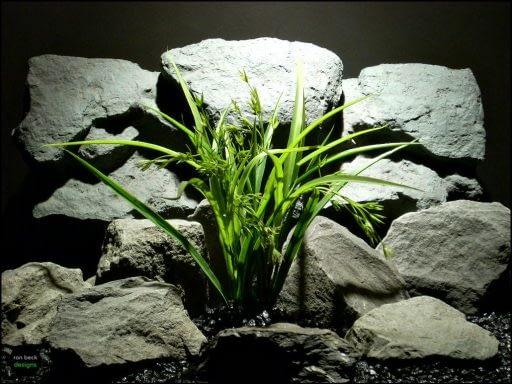 plastic aquarium plant morning grass pap112 by ron beck designs