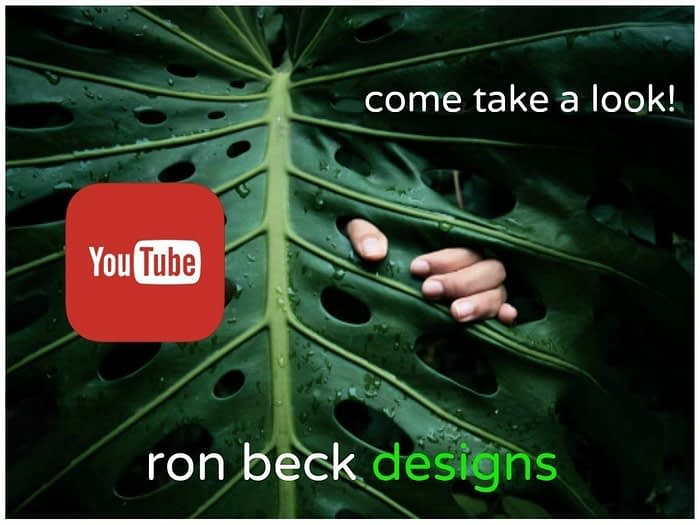 YouTube ron beck designs 1024 768