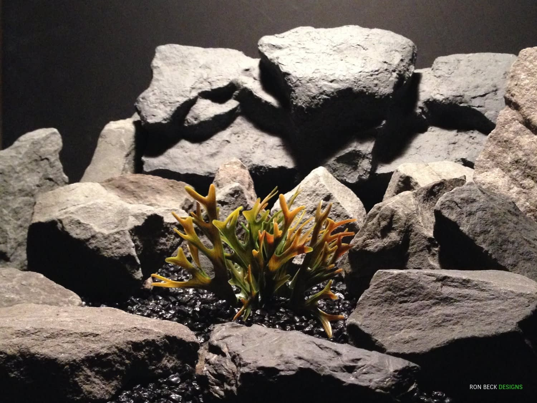 Artificial Hartshorn - Plastic Reptile Habitat Plant - prp346 2