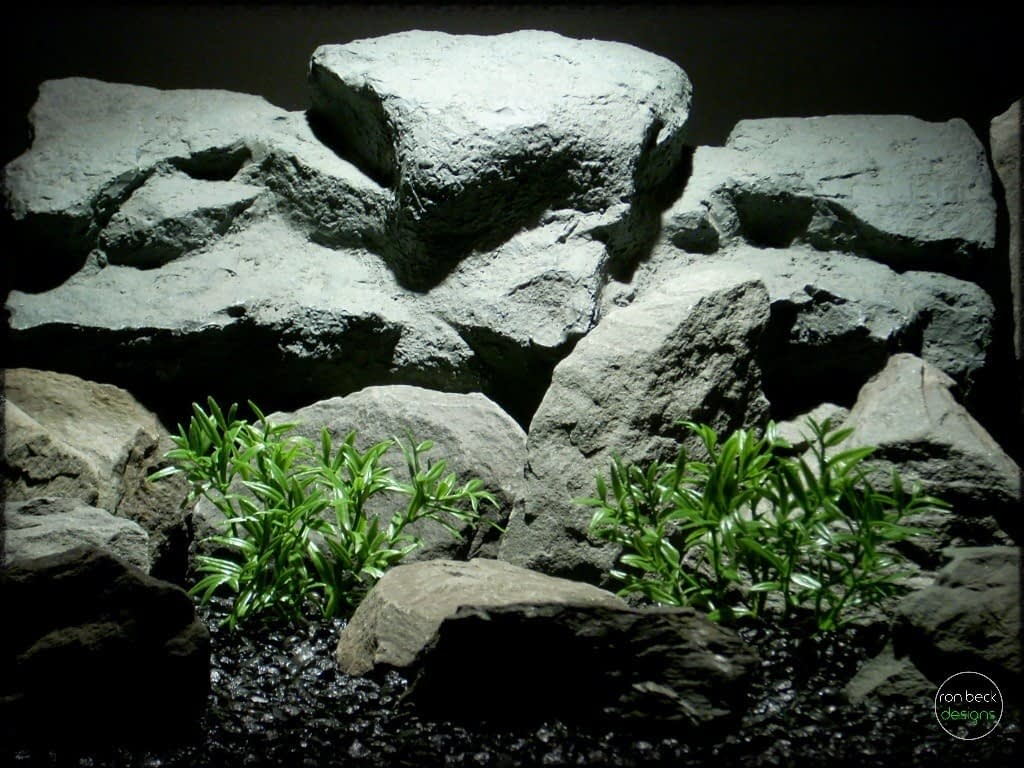 dwarf hygrophila artificial aquarium plants | ron beck designs pap273