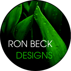 Profile - Ron Beck Designs - Black transparent circle filled 400 400