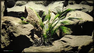 Artificial Mermaid Grass - Artificial Aquarium Plant - parp356
