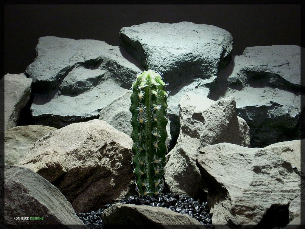 Artificial Cactus - Artificial Reptile Habitat Decor - prp332