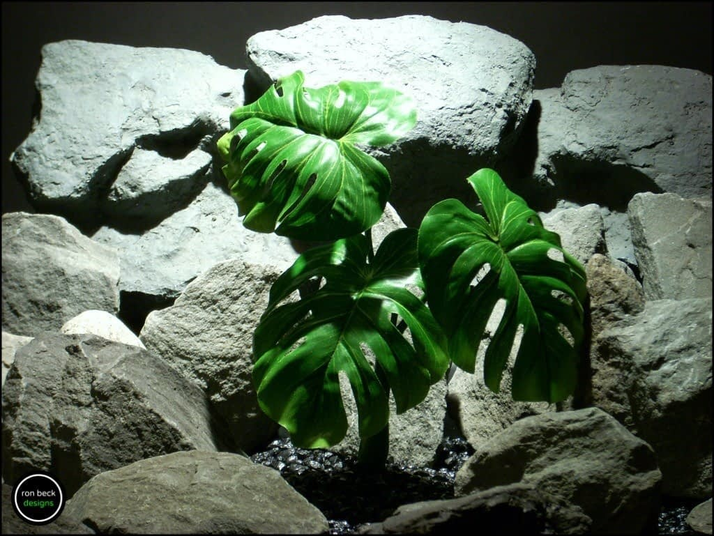 silk reptile plant split leaf philodendron srp169 from ron beck designs