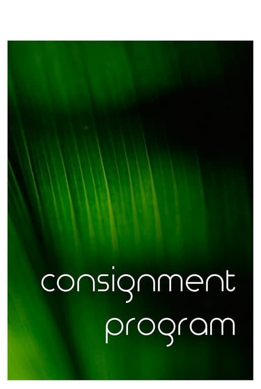consignment program - ron beck designs