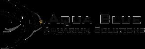 aqua blue aquarium solutions logo