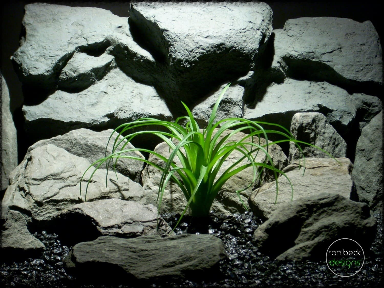 artificial plant: ponytail palm reptile plant decor prp253