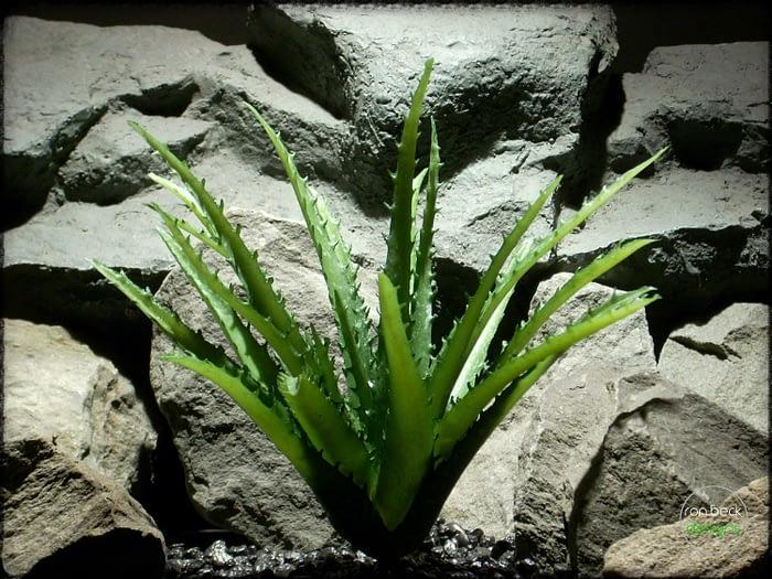 Artificial Aloe Vera Succulent - Artificial Reptile Plant - prp316 2