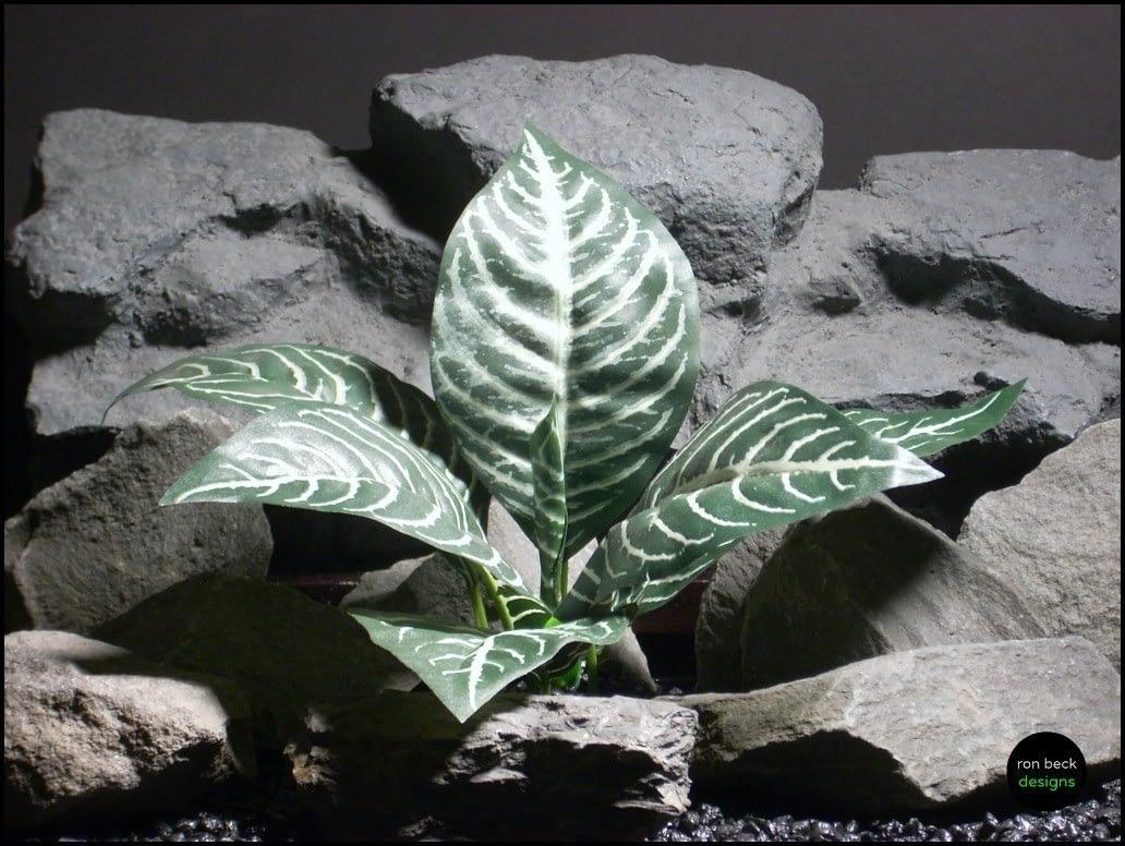 silk reptile plant dracena leaves sap100 by ron beck designs