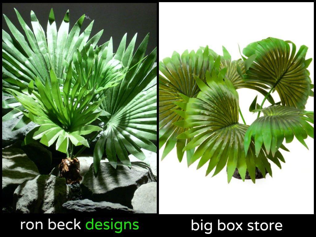 ron beck designs vs big box store