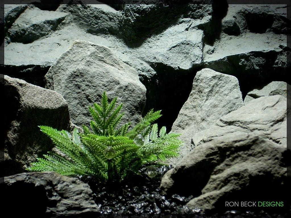 Artificial Coniferous Leaves - Artificial Reptile Plant - 1100 825 1