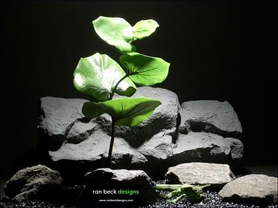 silk reptile habitat plants jade eucalyptus srp011 silk ron beck designs