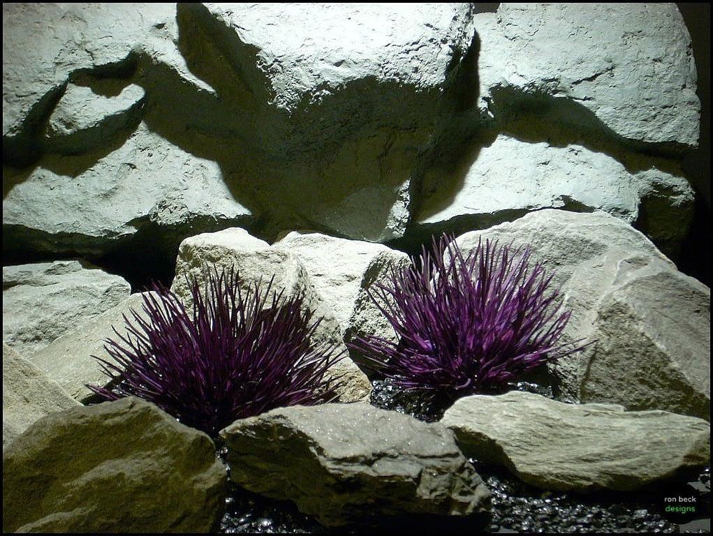 plastic aquarium plant carthamus pap118 ron beck designs