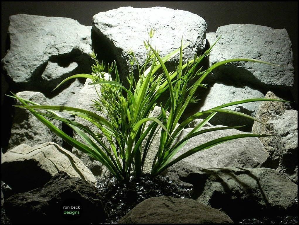 artificial aquarium plants morning grass pap131 from ron beck designs