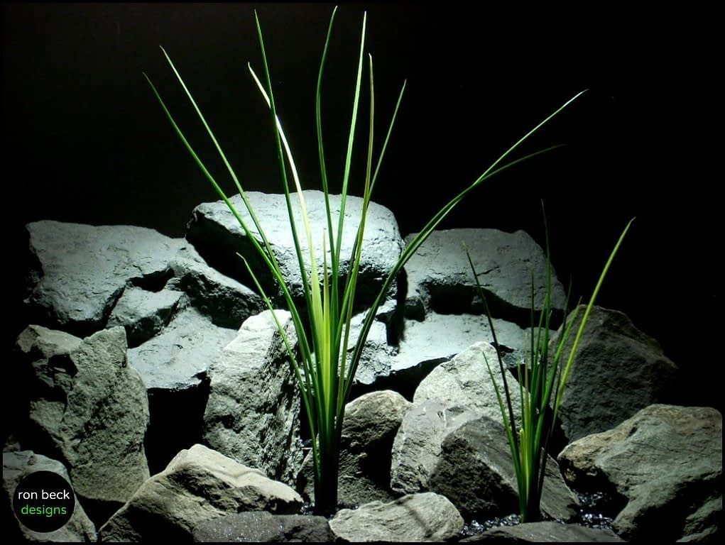plastic aquarium plants high grass pap151 from ron beck designs